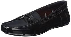 SWIMS Damen Penny Loafer Mokassin, Schwarz (Black Python 339), 38 von SWIMS