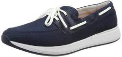 SWIMS Herren Breeze Wave Boat Mokassin, Blau (Navy/Orange/White 127), 42 EU von SWIMS