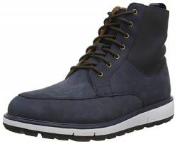 SWIMS Herren Country Boot Stiefelette, Blau (Navy/Orange), 41 EU von SWIMS