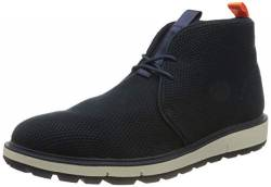 SWIMS Herren Motion Wool Knit Chukka-Stiefel, Navy/Ivory/Orange/Black, 41.5 EU von SWIMS