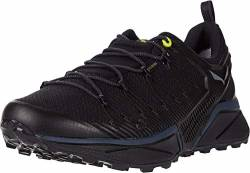 Salewa Herren MS Dropline Gore-TEX Traillaufschuhe, Black Out/Fluo Yellow, 42 EU von Salewa