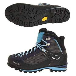 Salewa WS CROW GTX, Damen Trekking- & Wanderstiefel, Blau (Premium Navy/ethernal Blue 3985), 40.5 EU (7 UK) von Salewa