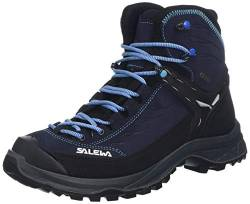 Salewa WS HIKE TRAINER MID GTX, Damen Trekking- & Wanderstiefel, Blau (Hector/french Blue 2242), 39 EU (6 UK) von Salewa