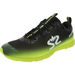Salming Race 7 Shoe Men Black Yellow 44.5 von Salming