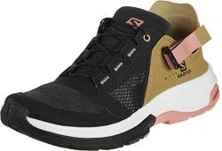 Salomon Techamphibian 4 Shoes Women Black/Bistre/Tawny orange Schuhgröße UK 8 | EU 42 2019 Schuhe von Salomon