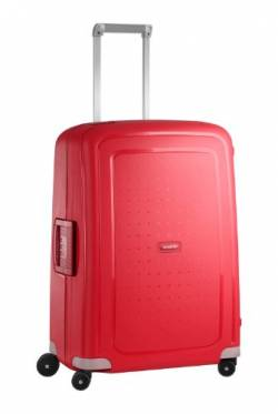 Samsonite S'Cure - Spinner M Koffer, 69 cm, 79 L, Rot (Crimson Red) von Samsonite