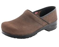 Sanita Original-Prof.Lars closed 450206M-78, Herren Clogs & Pantoletten, Braun (Antique Brown 78), EU 47 von Sanita