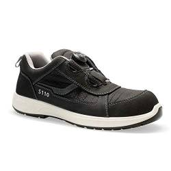 Sanita Unisex Construction Shoe, Black, 39 EU von Sanita