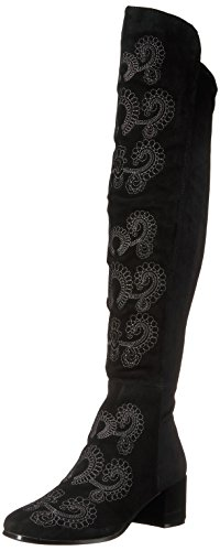 Sbicca Women's Chenoa Riding Boot, Black, 6 B US von Sbicca