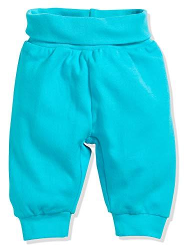 Babyhose in Jeans-Optik mit Elastischem Bauchumschlag Jogginghose Schnizler Unisex Baby Sweat-Hose