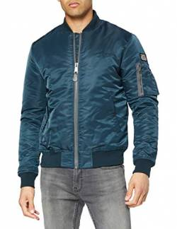 Schott NYC Herren Airforce1 Jacke, Blau (Navy), Medium von Schott NYC