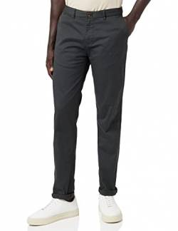 Scotch & Soda Herren NOS Stuart-Classic Regular Slim fit Chino Hose, Grau (Charcoal 96), W(Herstellergröße: 30/34) von Scotch & Soda