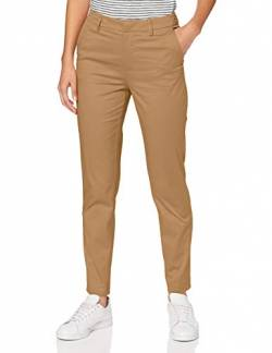 Scotch & Soda Maison Womens 'Bell' Slim fit Chino in Mercerized Organic Cotton Pants, Sand 0137, 27W / 32L von Scotch & Soda