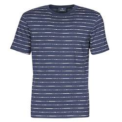 Scotch & Soda Mens Short sleeve tee with allover print T-Shirt, Combo D 0220, S von Scotch & Soda