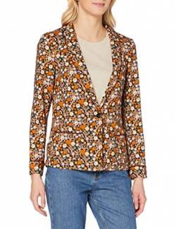 Scotch & Soda Womens Crafted in a Smooth Crepe Fabric That Drapes Beautifully, th Casual Blazer, Combo E 0221, M von Scotch & Soda