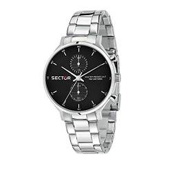 Sector No Limits Herren Analog Quartz Uhr mit Stainless Steel Armband R3253522004 von Sector