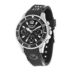 Sector No Limits Mens Analog Quartz Uhr mit Plastic Armband R3251161046 von Sector