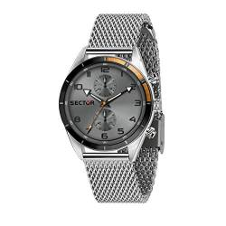 Sector No Limits Herren Analog Quartz Uhr mit Stainless Steel Armband R3253516005 von Sector