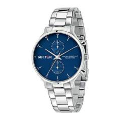 Sector No Limits Herren Analog Quartz Uhr mit Stainless Steel Armband R3253522003 von Sector
