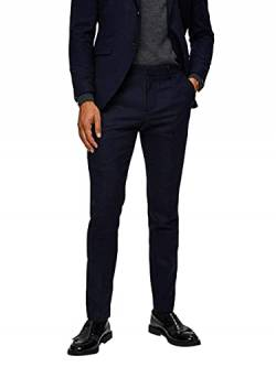 SELECTED HOMME Male Anzughose Slim Fit 98Dark Blue von SELECTED HOMME
