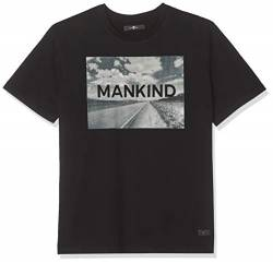 7 For All Mankind Herren Logo Cotton Black with T-Shirt, Mehrfarbig (Desert Print 0KC), X-Large von 7 For All Mankind