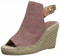 Seychelles Women's Charismatic Espadrille Wedge Sandal, Light Pink, 9 M US von Seychelles