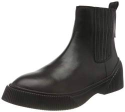 Shabbies Amsterdam Damen SHS0706 Sneaker Chelsea Boot Nappa Leather, Black, 40 EU von Shabbies Amsterdam