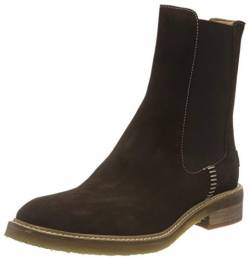 Shabbies Amsterdam Damen SHS0861 Chelsea Boot, Dark Brown, 42 EU von Shabbies Amsterdam