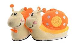 Cartoon Animal Rabbit Shoes Home warm Shoes neutral Soft Plush Home Slippers Rabbit Shoes (Gelb) von Shi xiaoshu