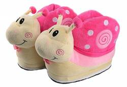 Cartoon Animal Rabbit Shoes Home warm Shoes neutral Soft Plush Home Slippers Rabbit Shoes (Rose rot) von Shi xiaoshu