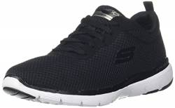 Skechers Women's Flex Appeal 3.0 Trainers, Black (Black White BKW), 3 UK 36 EU von Skechers