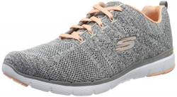 Skechers Damen Flex Appeal 3.0-high Tides Sneaker, Grau, 36 EU von Skechers