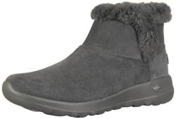 Skechers Damen ON-The-GO Joy-Bundle UP-15501 Kurzschaft Stiefel, (Charcoal Suede Charcoal), 37 EU von Skechers