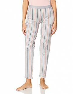 Skiny Damen Pyjamahose Sleep & Dream, grey melange stripe, 38 von Skiny