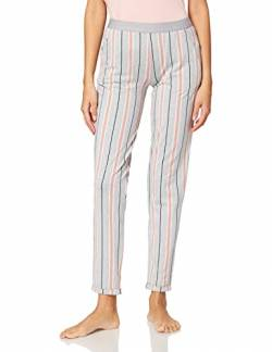 Skiny Damen Pyjamahose Sleep & Dream, grey melange stripe, 44 von Skiny