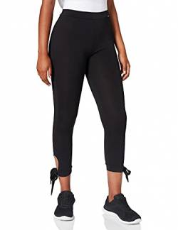 Skiny Damen Yoga & Relax Performance Midi 7/8 Sport Leggings, Schwarz (Black 7665), 44 von Skiny