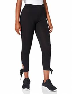 Skiny Damen Yoga & Relax Performance Midi 7/8 Sport Leggings, Schwarz (Black 7665), 42 von Skiny