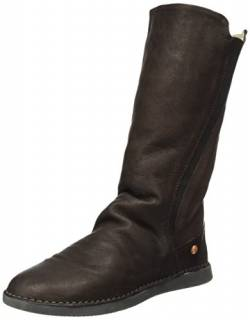 Softinos Damen TEYA328SOF Smooth Schlupfstiefel, Braun (Dk Brown), 41 EU von Softinos