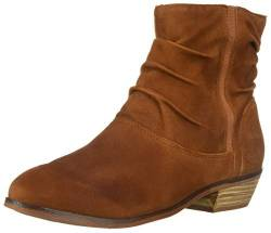 SoftWalk Women's Rochelle Ankle Boot, Brandy, 7.0 N US von Softwalk