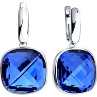 Damen Sokolov Swarovski-Kristall Express Yourself Blue Crystal Ohrringe Sterling-Silber 94022062 von Sokolov