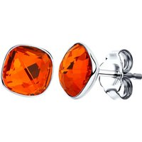 Damen Sokolov Swarovski-Kristall Express Yourself Red Crystal Stud Ohrringe Sterling-Silber 94022055 von Sokolov