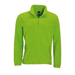 SOLS Herren Outdoor Fleece Jacke North (5XL) (Limette) von Sols