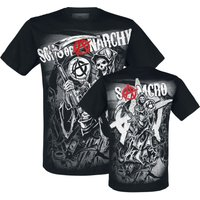 Sons Of Anarchy Reaper  T-Shirt  schwarz von Sons Of Anarchy