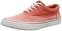 Sperry Top-Sider Herren Striper II CVO Sunbleached Sneaker, rot, 42 EU von Sperry