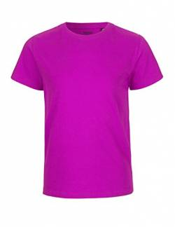 Neutral Kids Short Sleeved T-Shirt, 100% Bio-Baumwolle. Fairtrade, Oeko-Tex und Ecolabel Zertifiziert, Textilfarbe: pink, Gr.: 116 von Spirit of Isis
