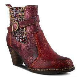 Spring Step L'Artiste Damen NANCIES Stiefel, Bordeaux Multi, 35.5/36 EU von Spring Step L'Artiste