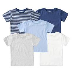 Organic Cotton Baby T-Shirt 5er-Pack - Bunt von Staccato