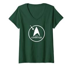 Damen Star Trek: Lower Decks St. Patrick's U.S.S. Cerritos T-Shirt mit V-Ausschnitt von Star Trek