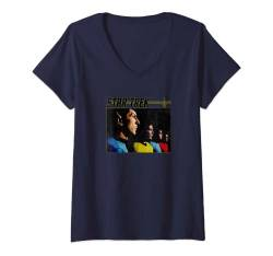 Damen Star Trek: The Original Series Group Shot Vintage Line Up T-Shirt mit V-Ausschnitt von Star Trek