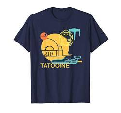 Star Wars A New Hope Tatooine Drawing T-Shirt von Star Wars